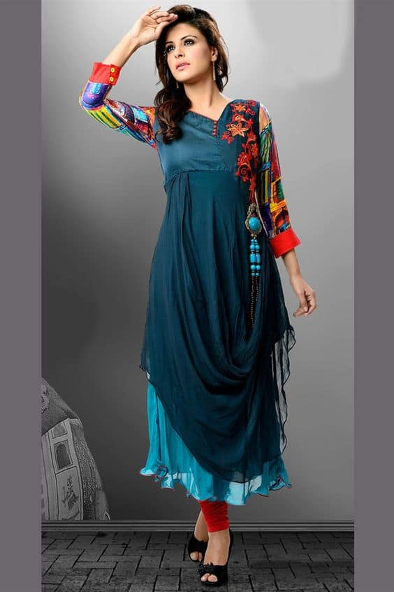 Designer Kurtis Before They Hit The Market Simple Craft