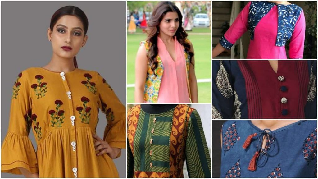 New Stylish And Trendy Kurti Neck Designs Simple Craft Ideas
