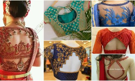 Bridal blouse design collections for wedding