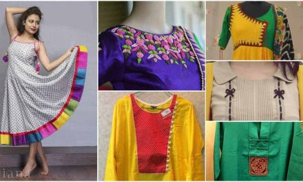 Latest designs of ladies kurtis