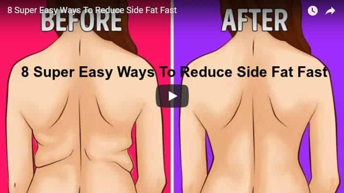 8 Super easy ways to reduce side fat fast