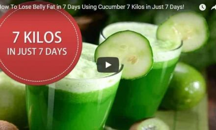 How to lose belly fat in 7 days using cucumber