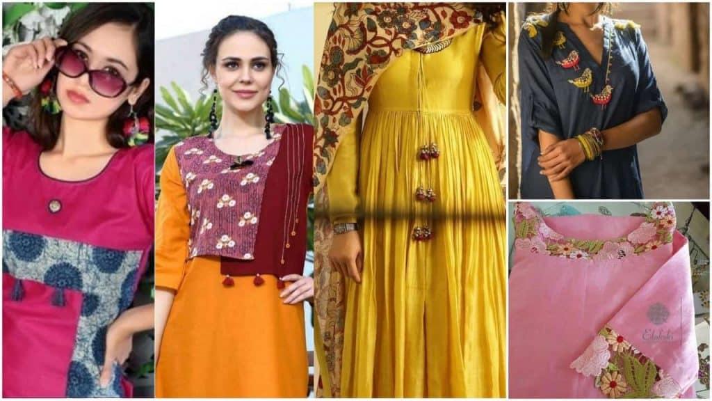 party wear fancy kurti