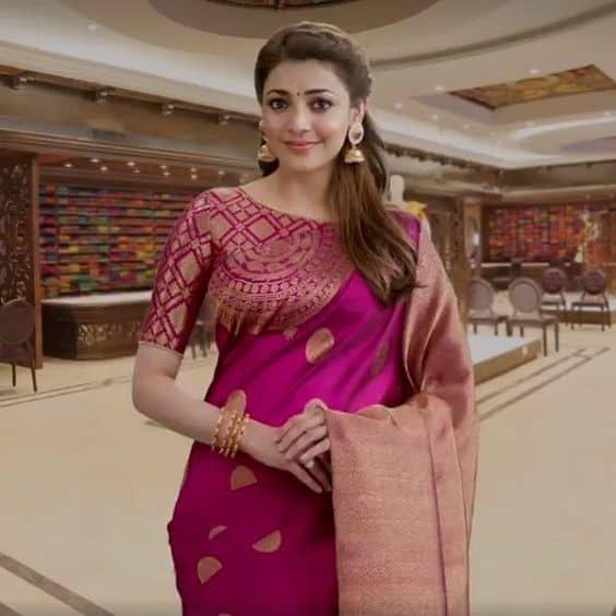 trendy saree blouse