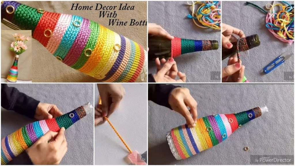 Reuse idea with bottles