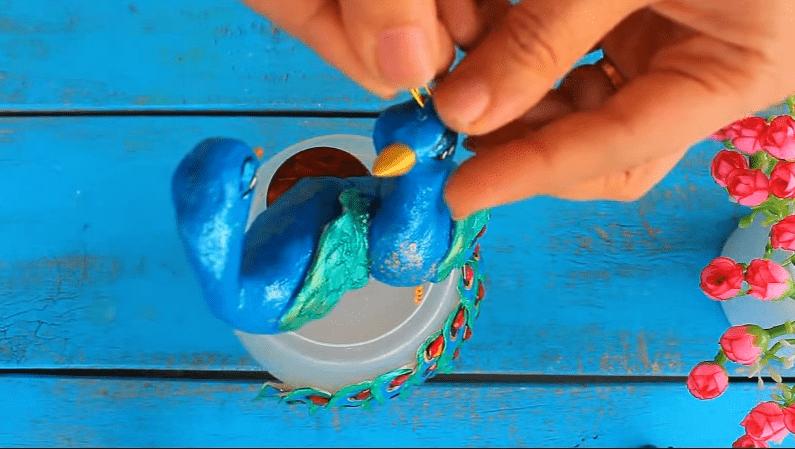 peacock lamp