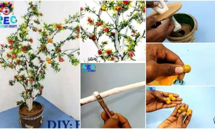 How to make showpiece tree