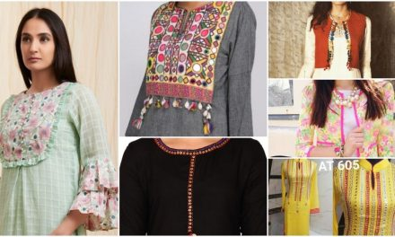 Latest designs of designer kurti patterns