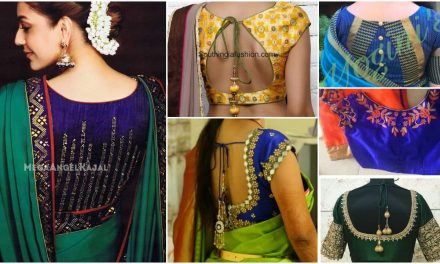 Latest saree blouse designs for 2018