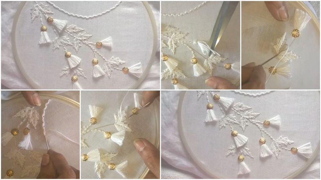 neckline embroidery