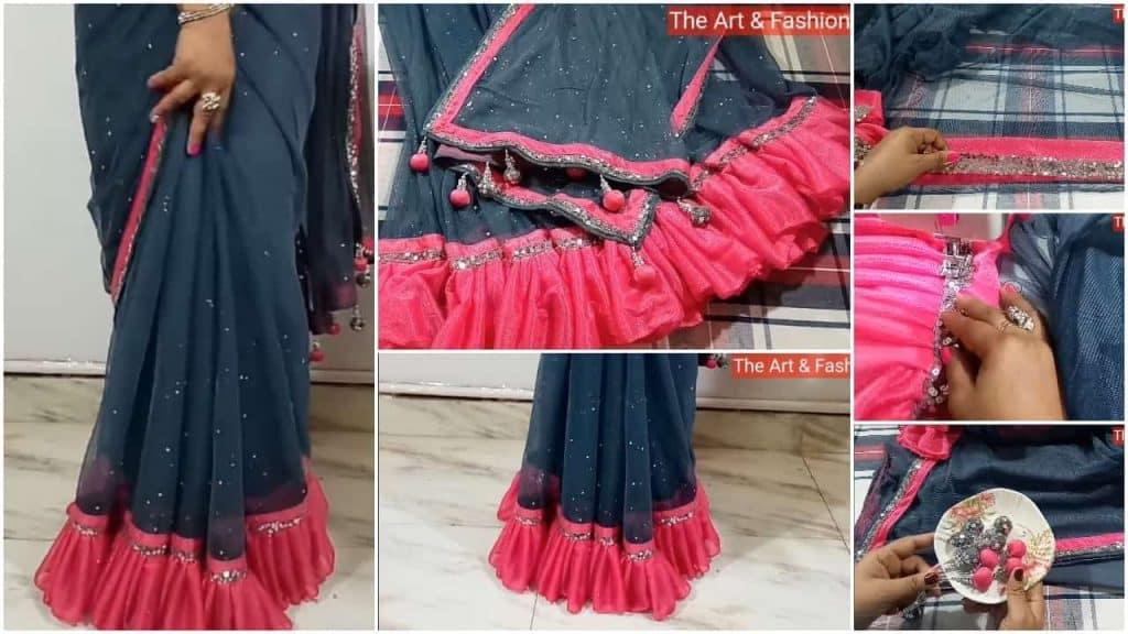 stylist fresher day saree