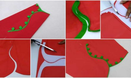 Sleeves latest design cutting and stitching