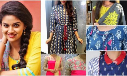 Stylish and fashionable kurti neck designs