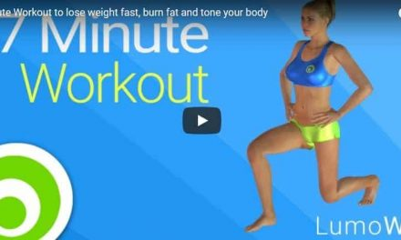 7 Minute Workout to lose weight fast, burn fat and tone your body