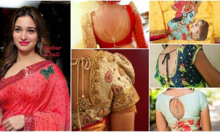 Latest saree blouse designs and patterns that will amaze you
