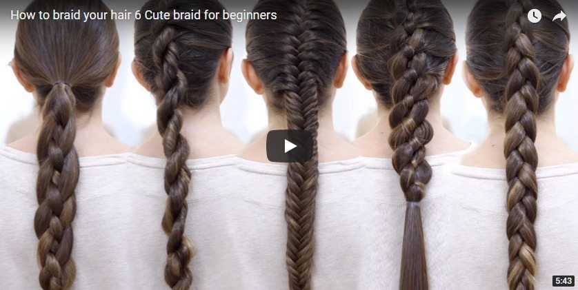6 cute braid
