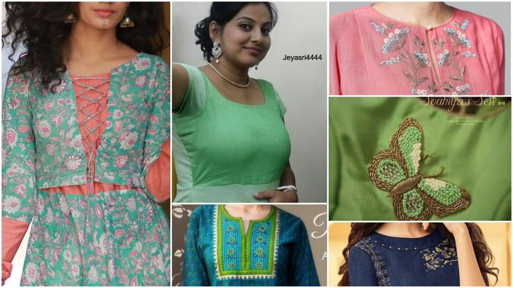 Latest designer top and kurta patterns for girls