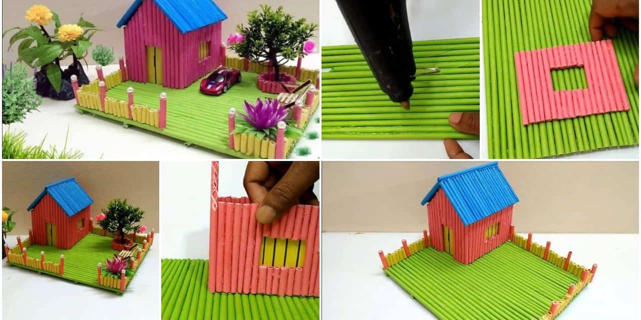 How to make beautiful and colorful dream house