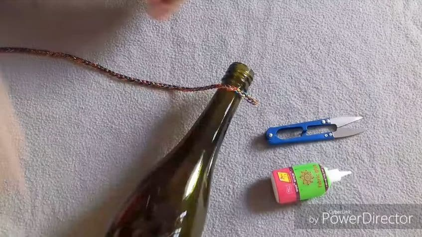 idea with bottles