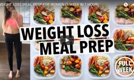 Weight loss meal prep for women(1 week in 1 hour)