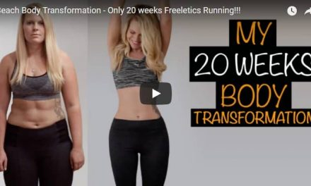 Beach body transformation – Only 20 weeks frenetic running!!!