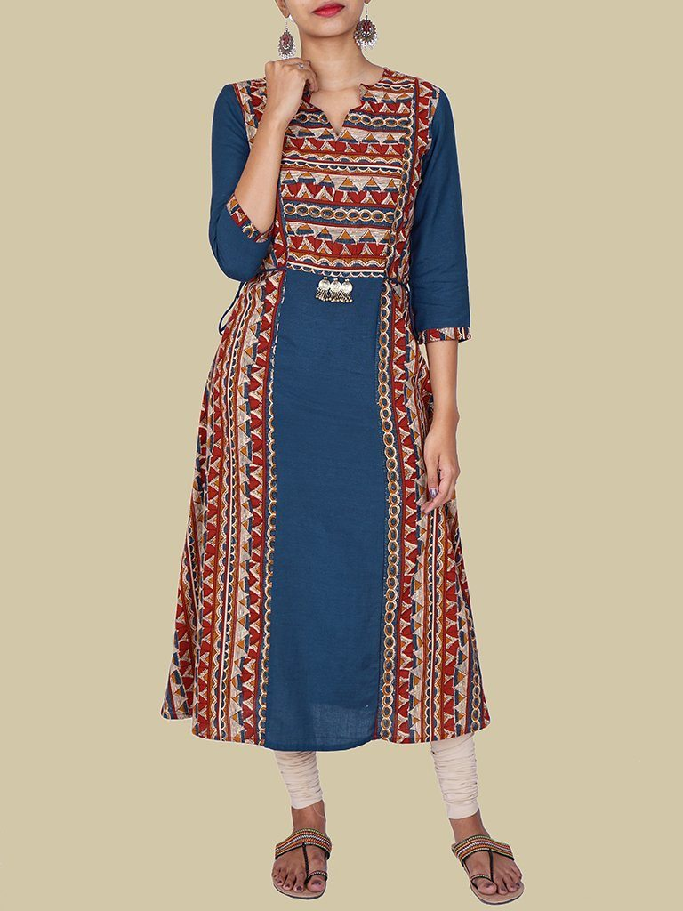 Top 20 Stylish And Trendy Kurti Neck Designs Simple