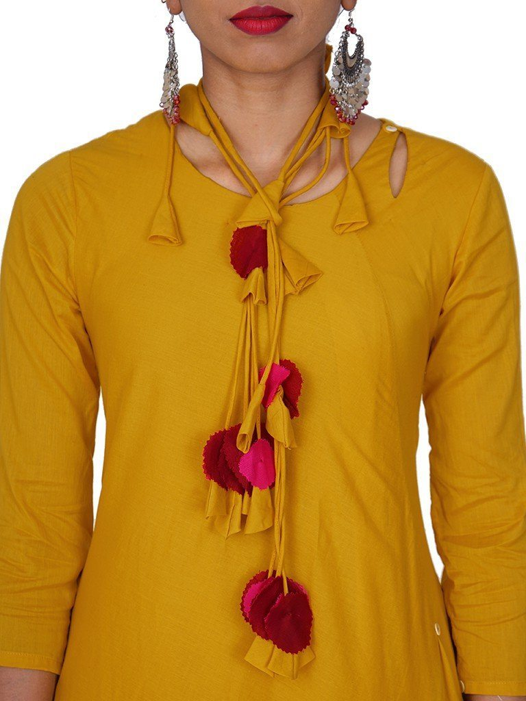 Top 20 stylish and trendy kurti neck designs - Simple ...