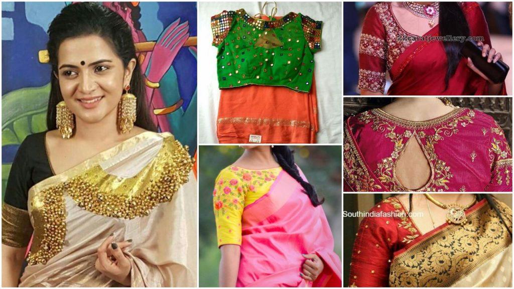 blouse designs patterns