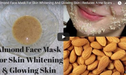 Almond face mask for skin whitening and glowing skin