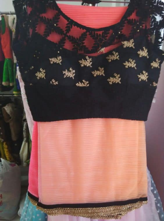 Latest Blouse Designs With Different Neck Patterns
