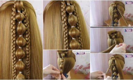 Quick and easy hair styling