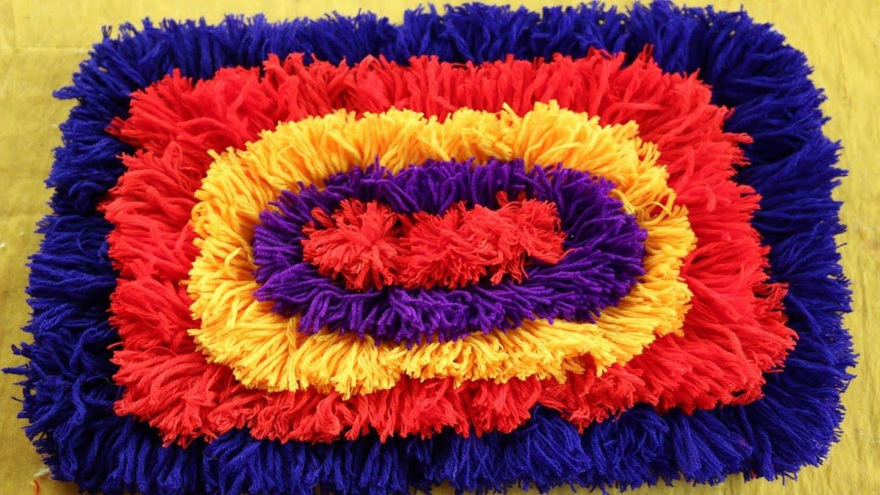 doormats using woolen