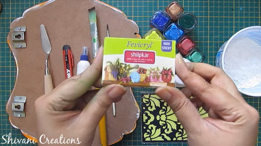 How To Make Nameplate At Home Simple Craft Ideas