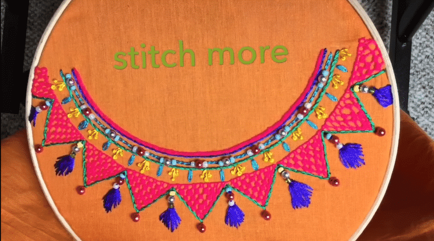easy stitch Neckline