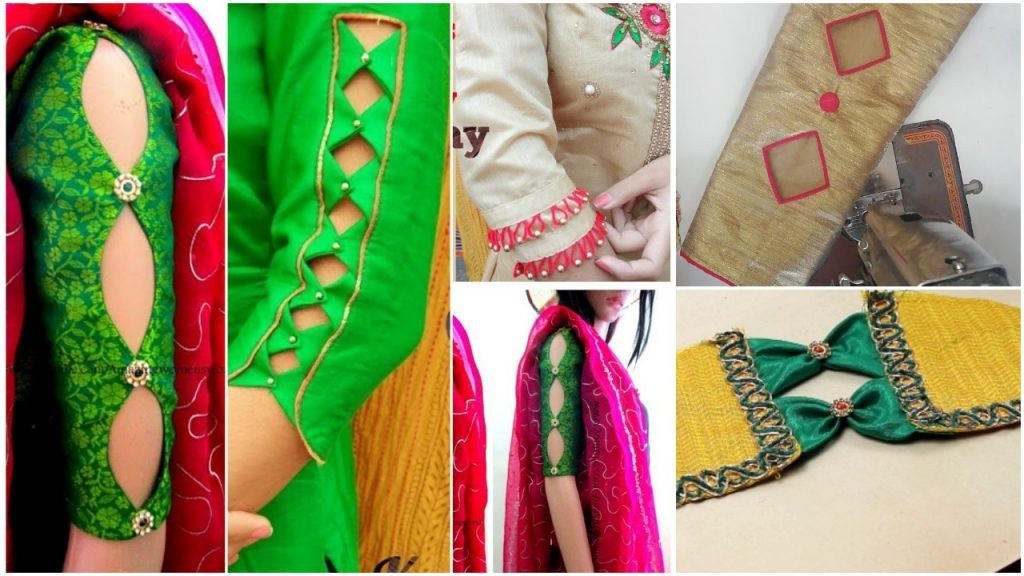 Stylish Sleeves Design For Kurti Simple Craft Ideas