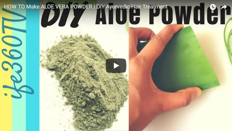 alovera powder