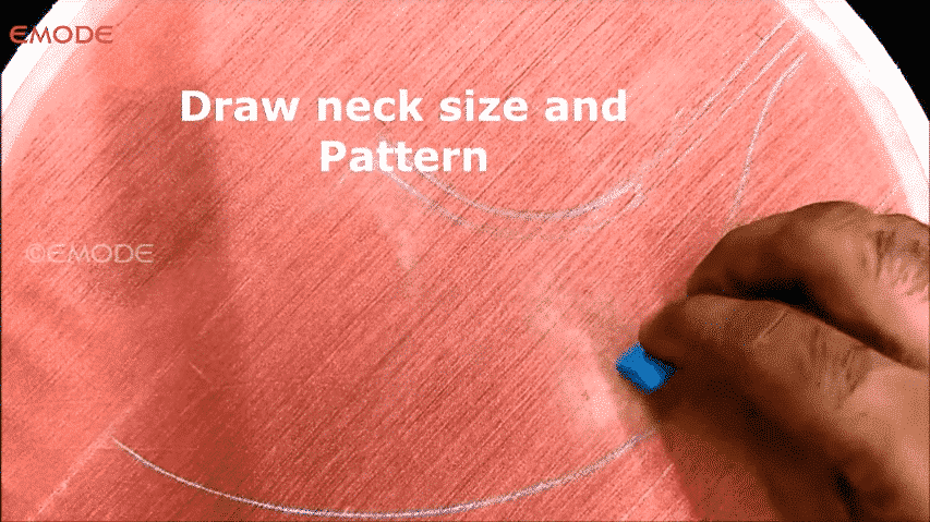 Mirror neck design