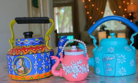 How to make decorative kettle using waste plastic