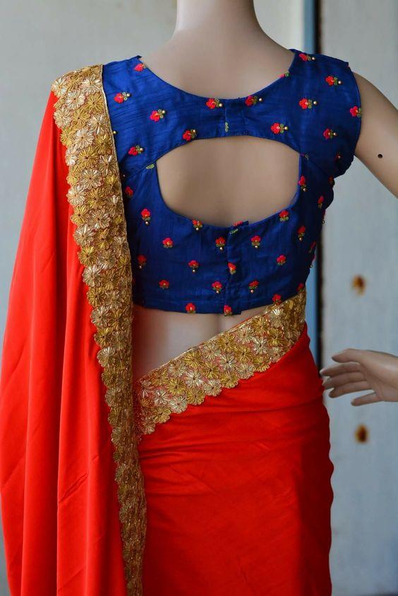 Trendy Silk Saree Blouse Designs Catalogue Simple Craft Ideas