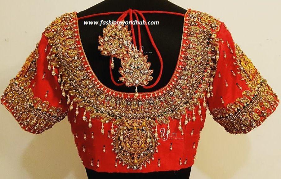 Latest Saree Blouse Designs For Silk Sarees Simple Craft Ideas