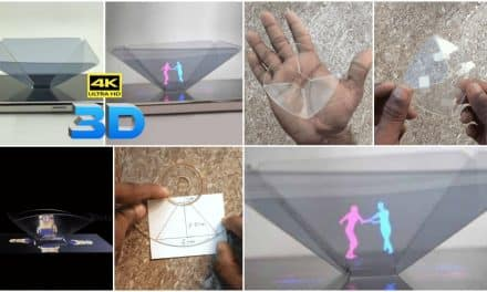 How to turn your smartphone into a 3D hologram
