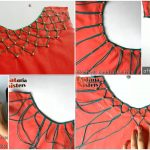 Latest and creative kurti neck design