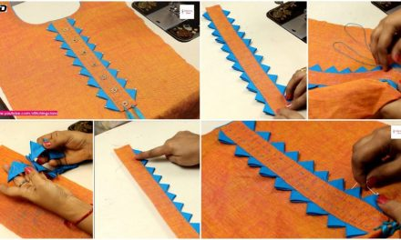 Stylish neck design cutting and stitching in an easy way