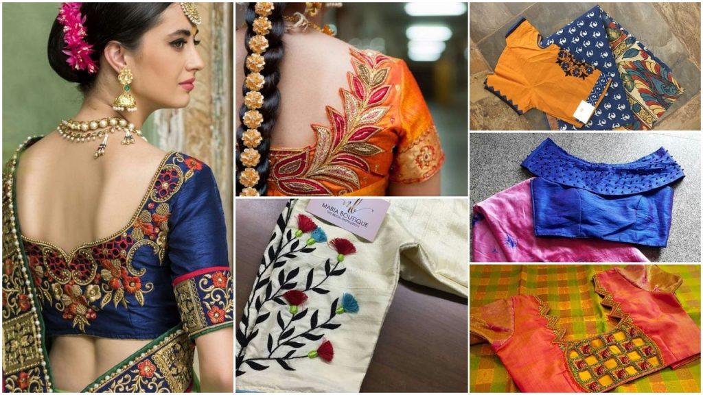 Latest Saree Blouse Designs For 2018 That Will Amaze You Simple