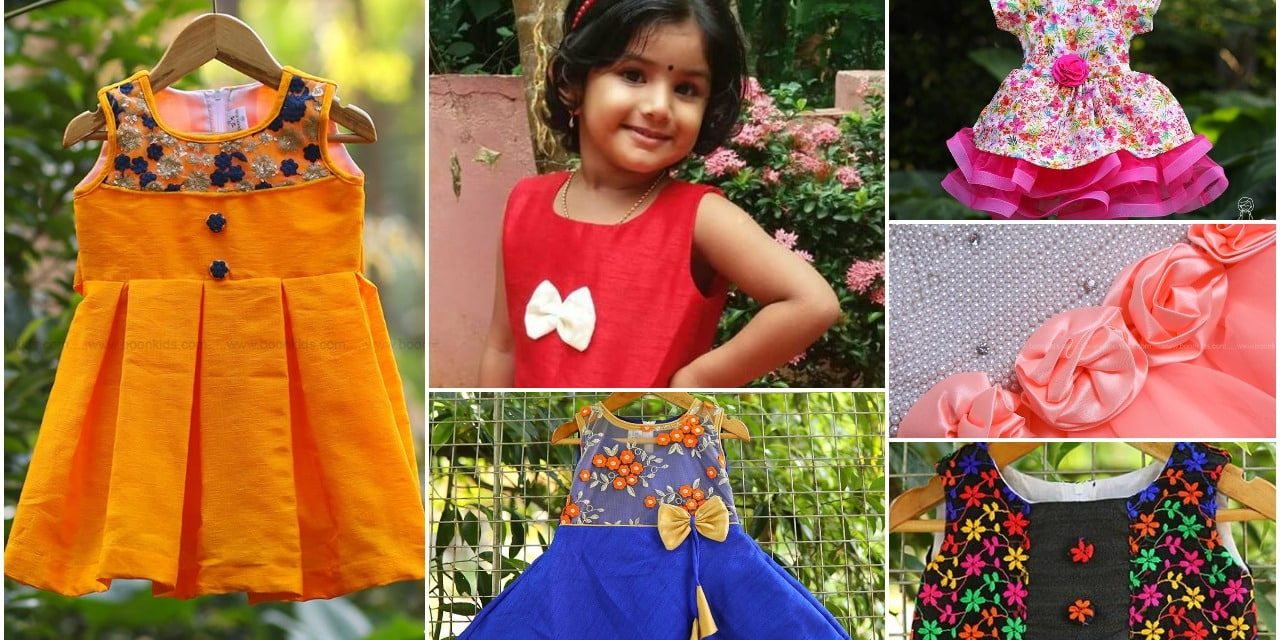 Fashionable baby girls dresses