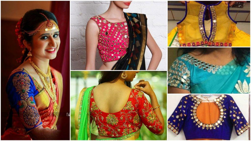 Designer blouse images