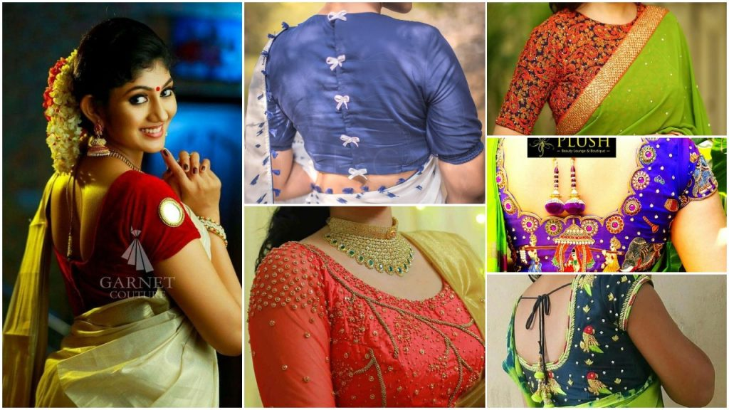30 Trendy Silk Saree Blouse Designs Catalogue 2018 Simple Craft Ideas