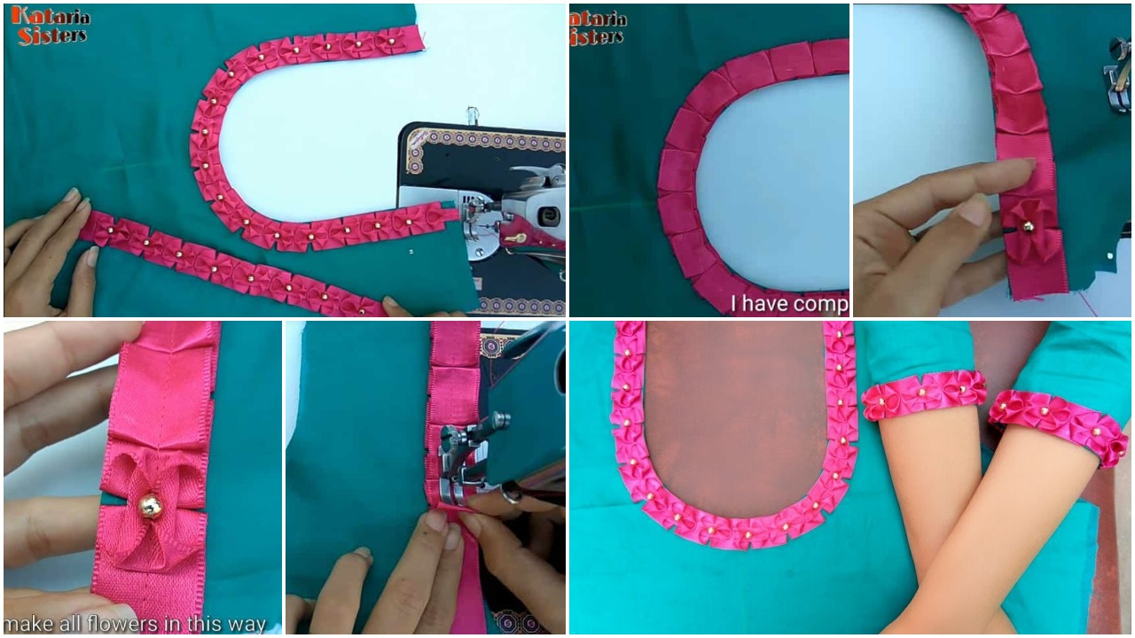 Latest neck and sleeves design in very easy way