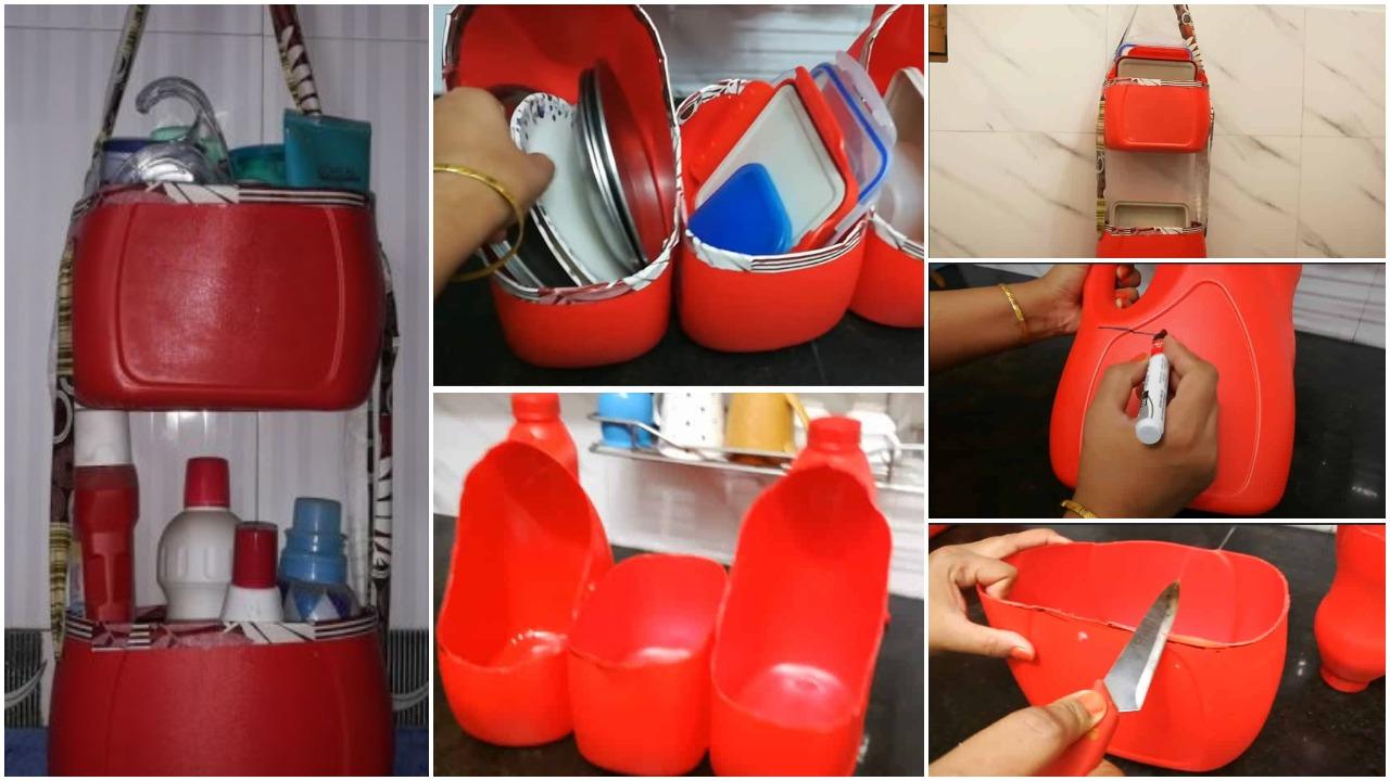 How to make multipurpose kitchen organizer