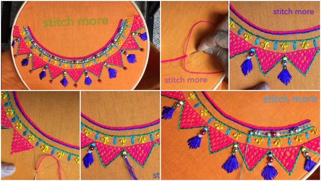 Hand Embroidery Easy Stitch Neckline Embroidery Stitch Designs Simple Craft Ideas,Powerpoint Template Design Free Download 2020